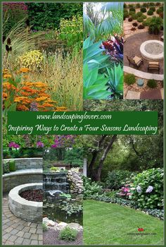 Landscaping plays an absolutely critical role in influencing the look and feel of your family's home. There is nothing more impressive than a home with fantastic landscaping. You can learn the best ways to landscape your home by carefully reading this article.  * You can find out more details at the link of the image. Landscaping Around House, Four Seasons, Plays, Improve Yourself, Backyard, Landscape, Reading, Link, Inspiration