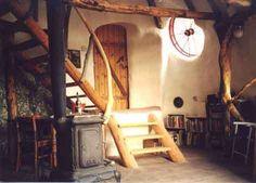 Earthbag House Interior