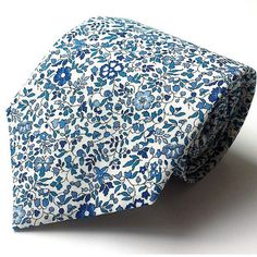 Liberty-Print-Blue-and-White-Floral-Wedding-Tie-by-Kate-Temple-via-The-Gay-Wedding-Guide