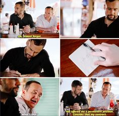 """""""Consider that my contract"""" - Hunter and Coulson #AgentsOfSHIELD"""
