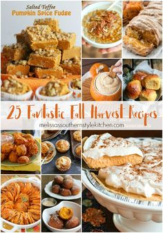 This collection of 25 Fantastic Fall Harvest Recipesis packed with both sweet and savory goodies to enjoy. The beginning of fall brings leaves changing colors, cooler weather, sunny days and pumpkins, sweet potatoes, apples galore and the anticipation of the holidays. It inspires me to get busy planning and baking just to celebrate. These harvest...Read More »