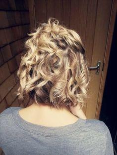 Curls for short hair
