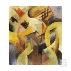 Small Composition I, 1913 Giclee Print