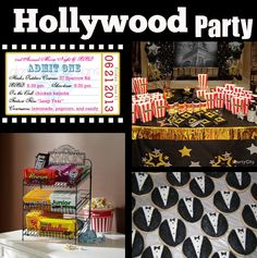 Hollywood-Themed Party Ideas