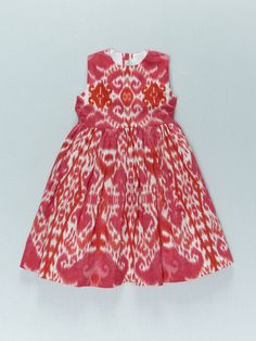 ikat party dress
