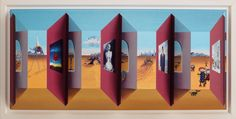 Parallel World, by John Wilson #art #3D #Dali