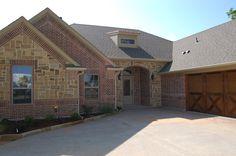 Acme Texas Highlander Brick & Oklahoma Multi color chopped