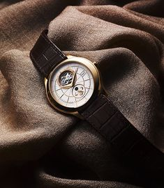 www.watchtime.com | wristwatch industry news industry  | Piagets Gouverneur Collection: Pictures, Specs, and Video | Piaget Gouverneur Tourbillon front