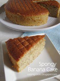 Moist Banana Cake Recipe, Banana Bread Cake, Banana Dessert Recipes, Banana Bread Recipes, Fruit Recipes, Carrot Cake, Drink Recipes, Sweet Recipes, Sweets
