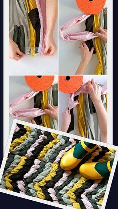 Easiest DIY Crafts of All Time: 12.Friendship Bracelet Rug - Diy