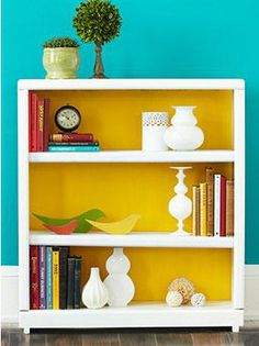 Bookcase Makeover | Girlfriends Are Like Shoes
