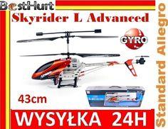 MEGA Helikopter Skyrider L Advanced 43cm Gyro LED