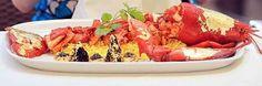"The Samundari Khazana (meaning ""seafood treasure"") contains Devon crab, white truffle, Beluga caviar, gold leaf, a Scottish lobster coated in gold, four abalones and four quail eggs. Price $3,200"
