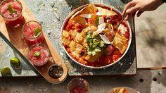 Watermelon and basil salt margarita recipe : SBS Food Minced Beef Recipes, Roast Turkey Recipes, Mince Recipes, Ground Beef Recipes, Chili Recipes, Mexican Food Recipes, Ethnic Recipes, Sbs Food, Watermelon Recipes