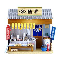 Japanese paper doll houses.