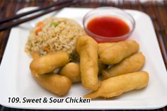 Sweet N Sour Chicken...Our signature dish!