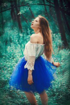 Świtezianka   Agnieszka Juroszek Photography      Model: Adrianna Brzozowska   girl, flowers,  colors, spring, portrait, delicate, beauty, forest, fairy, magic,