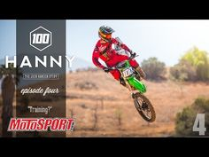 This week we take an inside look at Hanny's new training program. After hiring Ty Kady as his personal trainer, Josh is definetely taking the right steps to make this comeback a successful one. Kawasaki Dirt Bikes, Motosport, Training Programs, Motocross, Personal Trainer, Comebacks, How To Make, Auto Racing, Workout Programs