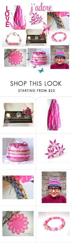 """Love them All"" by anna-recycle ❤ liked on Polyvore featuring Scialle, modern, rustic and vintage"