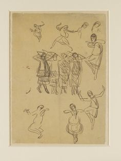 Le Sacre du Printemps; The Rite of Spring | Valentine Gross | V&A Search the Collections