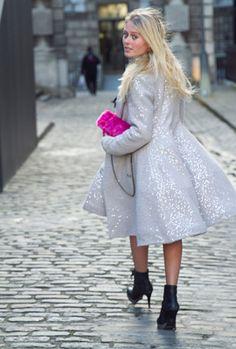 London Fashion Week Street Style AW14 :: Company.co.uk