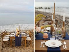 beach tablescape with our Classic Collection plates, vintage glassware and silverplate flatware Non Floral Centerpieces, Centerpiece Ideas, Destination Wedding Inspiration, Wedding Ideas, Classic Collection, Vintage Table, Vintage Glassware, Event Styling, Rehearsal Dinners