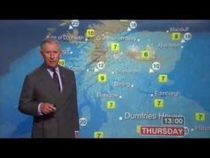 """Prince Charles & Camilla Do the Weather: """"Who the Hell Wrote This Script"""" (HQ) - YouTube"""