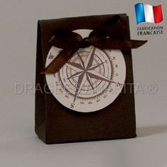 un pochon qui refermera surement un trésor, sur le thème du voyage ce pochon est vendu avec son étiquette.