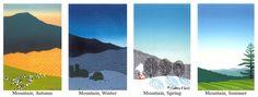 """Mountain Suite"" - Sabra Field, Printmaker"