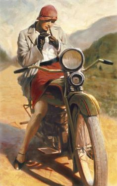 Girl on an old motorcycle: Post your pics! - Page 571 - ADVrider