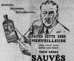 """Mazelline 1932. """"Anémiés, Surmenés, Convalescents, FAITES CETTE CURE MERVEILLEUSE chez vous, sans quitter votre travail VOUS SEREZ SAUVÉS""""."""