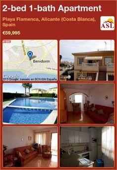 2-bed 1-bath Apartment in Playa Flamenca, Alicante (Costa Blanca), Spain ►€59,995 #PropertyForSaleInSpain