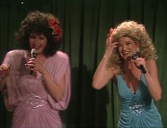 Along with Jan Hooks, Nora Dunn was one of SNL's singing Sweeney Sisters.