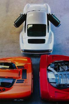 Dream Garage: Porsche 959, Mclaren F1 & Ferrari F40