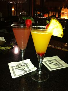 Oh Cheesecake Factory how I love your Tropical Martini's.  :)