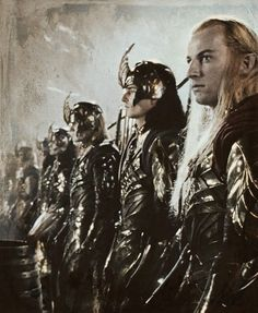 Haldir and the Elf Army at Helms Deep. Legolas, Aragorn, Thranduil, Jrr Tolkien, Fellowship Of The Ring, Lord Of The Rings, Craig Parker, Helms Deep, Nerd