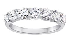 Lazare's 7 Stone Trellis Diamond Band