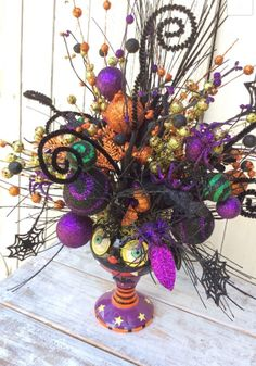halloween bat centerpiece - Halloween Centerpiece
