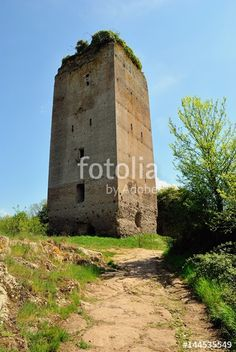 La torre della Mola dei Piscoli - Paliano - Frosinone