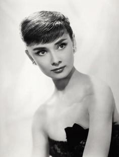 Audrey Hepburn photographed by Bud Fraker, 1953.