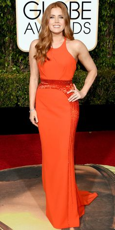 2016 Golden Globes Red Carpet Arrivals - Amy Adams - from InStyle.com