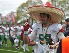 Mexico Campeon del mundial de futbol americano universitario...