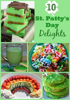 10 St. Patty's Day Recipes that will put you in the St Patricks Day spirit!