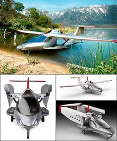 - Convertible sea plane that can also drive around on land.Icon - Convertible sea plane that can also drive around on land. Private Jet, Private Plane, Light Sport Aircraft, Photo Avion, Amphibious Aircraft, Flying Vehicles, Float Plane, Flying Car, Engin