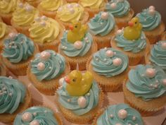 Love the use of fondant beads Knockout Rubber Ducky Baby Shower Party City