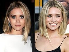 3. Fashion hairstyles Ahley Olsen. 22-year-old Ashley Olsen, sister of