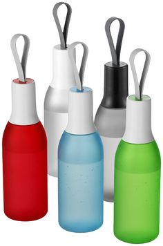 Flow bottle   10030704 IF product design award 2014 / Red Dot design award 2014   Design Marijn Molenaar