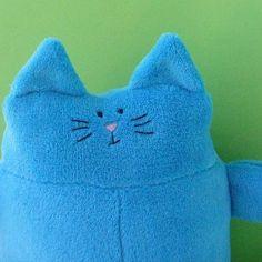 Cuddly Fat Cat softie pattern from Shiny Happy World