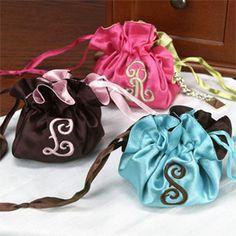 Satin Reversible Favor Bags