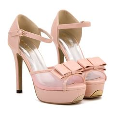 $15.08 Sweet Women's Sandals With Bow and Mesh Design